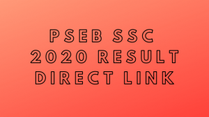 Punjab board ssc result 2020- pseb.ac.in | PSEB 5th,8th and 10th class result 2020 online