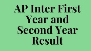 AP Inter First Year and Second Year Result (12 june)2020 : Result Online @ bie.ap.gov.in