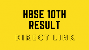 HBSE 10th Class Result 2020 Haryana Board @ results.bseh.org.in