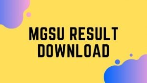 MGSU Result 2020 @ mgsubikaner.ac.in : Check MGSU BA BSC BCOM MA MSC MCOM Results Online