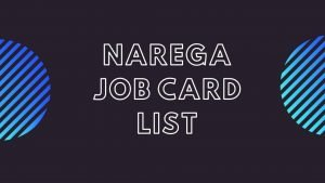 NREGA Job Card List 2020 MNREGA : Check Eligibility, NREGA Registration Process @ nrega.nic.in