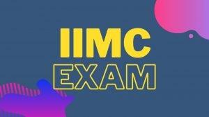 IIMC 2020-2021 entrance exam application form,Eligibility,Exam pattern